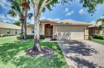 Boynton Beach Single Family Home Contingent: 8310 Duomo Circle