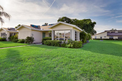 delray beach Single Family Home Contingent: 5337 Lakefront Boulevard #D
