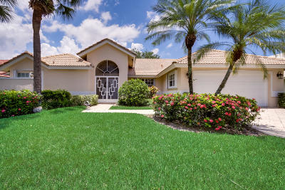 Boynton Beach Single Family Home For Sale: 6881 Sun River Road