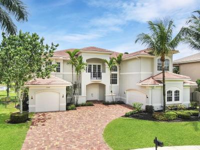 Boynton Beach Single Family Home For Sale: 8746 Caraway Lake Court
