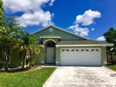 Jupiter Single Family Home For Sale: 6053 Mullin Street