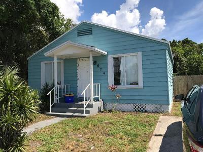 Lake Worth Single Family Home For Sale: 624 Latona Avenue