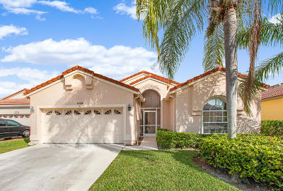 Boynton Beach Single Family Home For Sale: 12305 Wedge Way