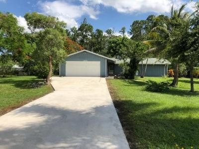 Lake Worth Single Family Home For Sale: 9106 Rodeo Drive