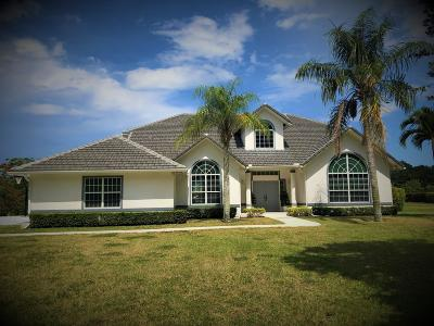 Palm Beach Gardens Single Family Home For Sale: 8374 Man O War Road