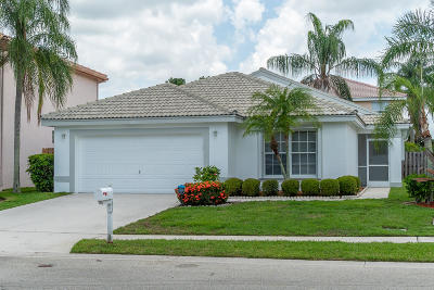 Lake Worth Single Family Home For Sale: 7133 Catalina Way