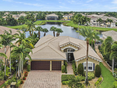 Boynton Beach Single Family Home For Sale: 11772 Foxbriar Lake Trail