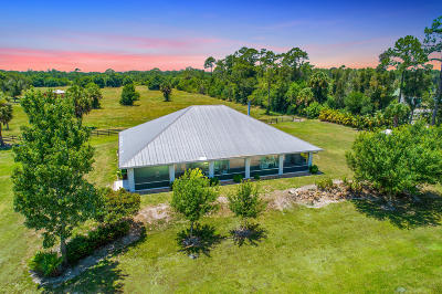 Single Family Home For Sale: 18486 Glades Cut Off Road