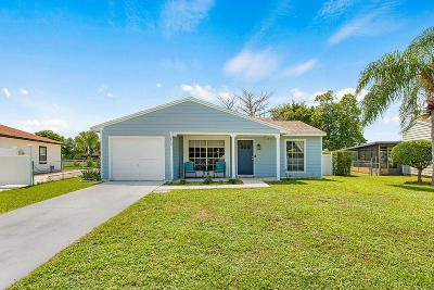 Boynton Beach Single Family Home Contingent: 5412 Courtney Circle
