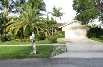 Palm Beach County Single Family Home For Auction: 1247 Pinetta Circle