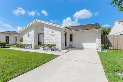 Palm City Single Family Home For Sale: 4211 SW Egret Pond Terrace