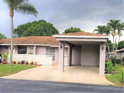 Delray Beach Single Family Home For Sale: 6791 Moonlit Drive