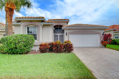 Boynton Beach Single Family Home For Sale: 7189 Treviso Lane