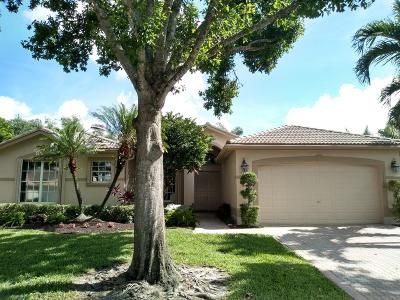 Boynton Beach Single Family Home For Sale: 11310 Barca Boulevard