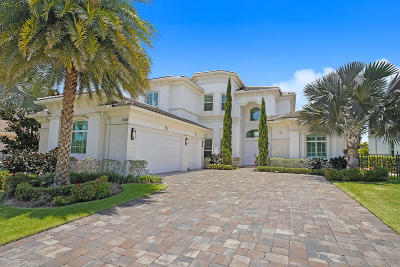 North Palm Beach Single Family Home For Sale: 13933 Willow Cay Drive
