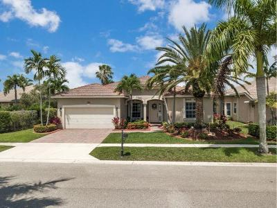 West Palm Beach Single Family Home For Sale: 9546 Lantern Bay Circle