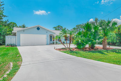 Fort Pierce Single Family Home Contingent: 6114 Yucca Drive