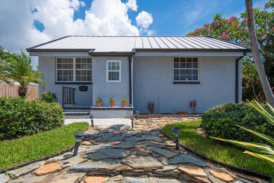 West Palm Beach Single Family Home For Sale: 219 Alpine Road