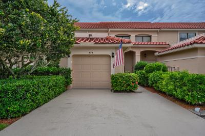 Palm Beach Gardens Townhouse For Sale: 872 Windermere Way SW
