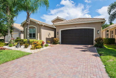 Boynton Beach Single Family Home For Sale: 9598 Sail Palm Court