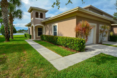 Fort Pierce Condo For Sale: 1783 S Dovetail Drive #1