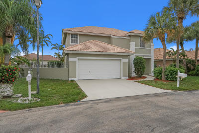 Boynton Beach Single Family Home For Sale: 63 Citrus Park Lane