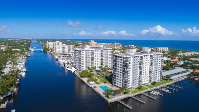 Delray Beach Condo For Sale: 200 Macfarlane Drive #N-201