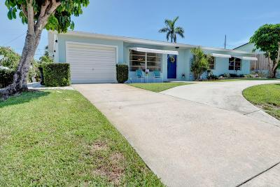 Lake Worth Single Family Home For Sale: 1714 15th Avenue