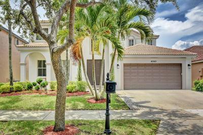 Weston Single Family Home For Sale: 4065 Palmetto Trail