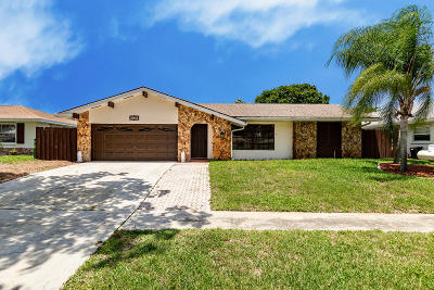 West Palm Beach Single Family Home For Sale: 2345 Gabriel Lane