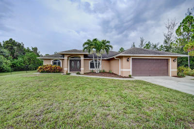 Loxahatchee Single Family Home For Sale: 15324 67th Court