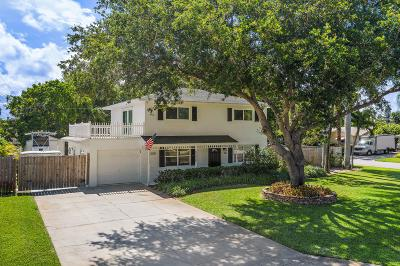 Jupiter Single Family Home Contingent: 1606 Kingsley Road