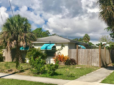 West Palm Beach Single Family Home For Sale: 400 47th Street