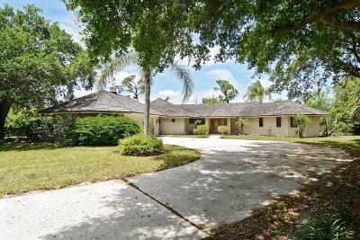 Palm City Single Family Home For Auction: 4330 SW Thistle Terrace
