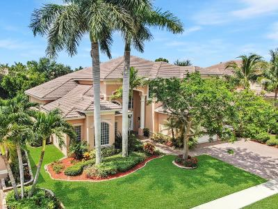 Boynton Beach Single Family Home For Sale: 10863 Canyon Bay Lane