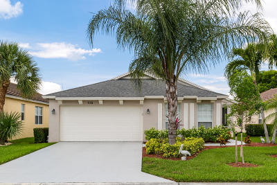 Single Family Home For Sale: 516 SW Indian Key Drive