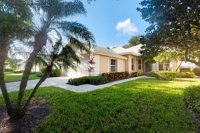 Palm Beach Gardens FL Single Family Home For Sale: $388,500
