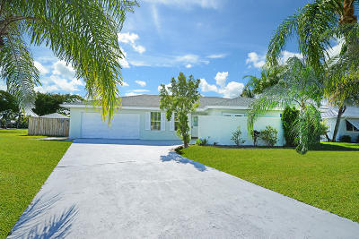Boynton Beach Single Family Home For Sale: 2510 SW 12th Street