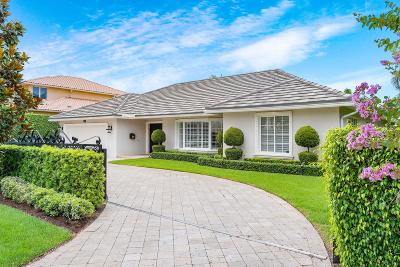 Boca Raton Single Family Home For Sale: 2380 Date Palm Road