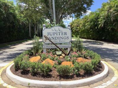 Jupiter Single Family Home For Sale: 17995 Anchor Drive
