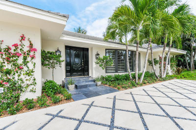 Palm Beach Single Family Home For Sale: 1435 Ocean Way