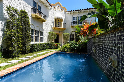 Palm Beach FL Single Family Home For Sale: $3,195,000