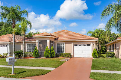 Lake Worth Single Family Home For Sale: 6110 Harbour Greens Drive
