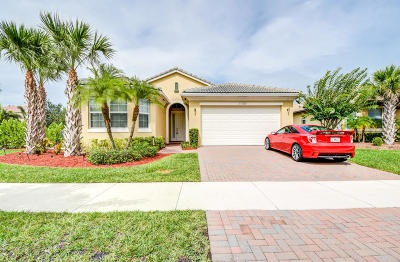 Port Saint Lucie Single Family Home For Sale: 11709 SW Bennington Circle