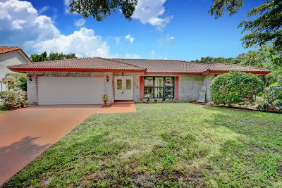 Single Family Home For Sale: 6366 NW 47 Court