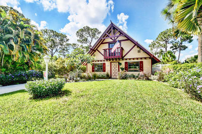 Delray Beach Single Family Home For Sale: 5320 Adams Road