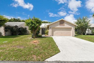 Lake Worth Single Family Home Contingent: 6072 Strawberry Lakes Circle