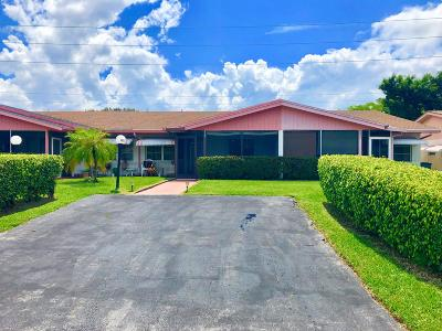 Delray Beach Single Family Home For Sale: 14317 Campanelli Drive