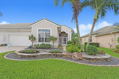 Boynton Beach Single Family Home For Sale: 8882 Brittany Lakes Drive