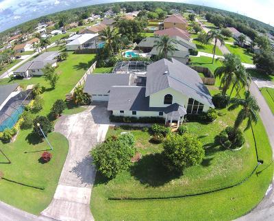 Port Saint Lucie Single Family Home For Sale: 843 SE Thornhill Drive